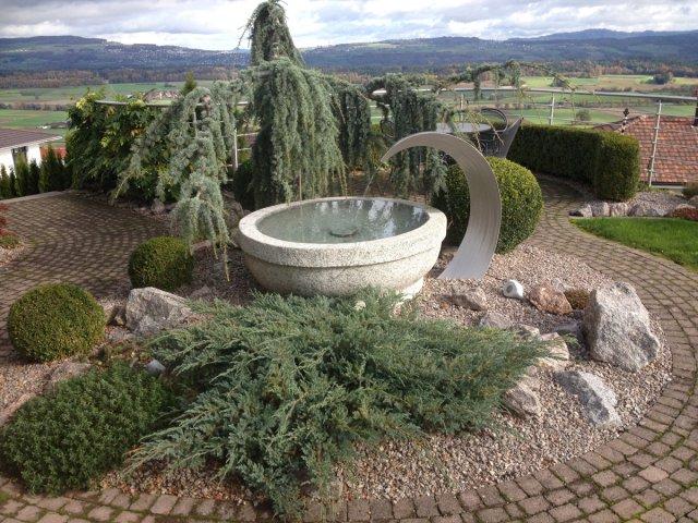 brunnen On natursteinbrunnen fur garten