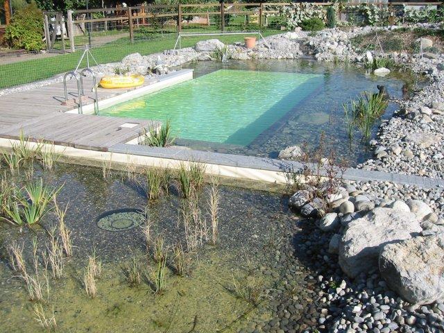Schwimmteiche biopool for Garten schwimmteich